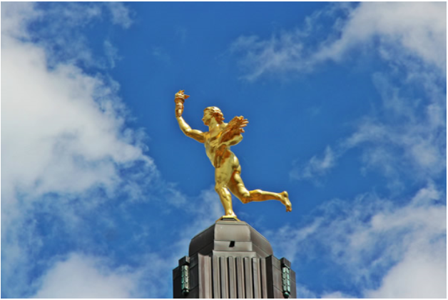 Manitoba's Golden Boy Statue